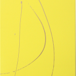 YELLOW POP 1 (48x24 Acrylic on Canvas)