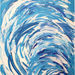 SPUMA (60x48 Acrylic on Canvas)