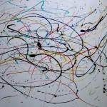 TOUR DE FRANCE (60 x 72 Acrylic on Canvas)