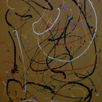 COPPERLINE (acrylic on canvas 72 x 60)