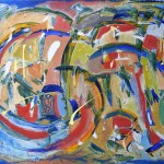 MILLENNIUM (48 x 60 Acrylic on Canvas)