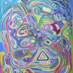SOUTH BEACH (60 x 48 Acrylic on Canvas)