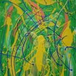 CETACEAN (48 x 30 Acrylic on Canvas)