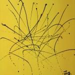 MARTINI EXPERIMENT (Acrylic on Canvas 60 x 48)