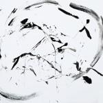 SUMI-E (Acrylic on Canvas 48 x 60)