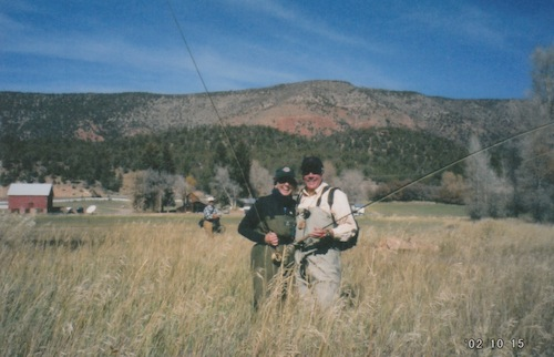 Fran & Pete Fly Fishing!