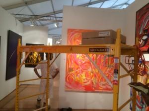 Setting Up Art Miami