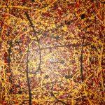 Mori No Naka No Jiin (60x 48 Acrylic on Canvas)