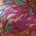 """""""Sea of Life"""" (48x48 acrylic on Belgian linen)"""